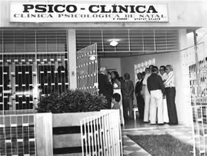 Foto da primeira clínica psicológica particular de Natal/RN