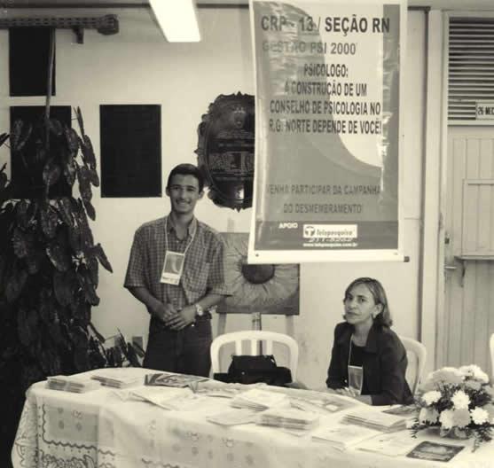 Foto de 1999 - Início da Campanha Pró-Desmembramento.
