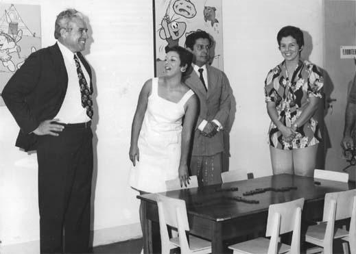 1973 - SEPA - Foto da Inauguração da Sala de Ludoterapia